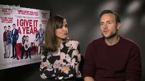 Rose Byrne, Rafe Spall 'I Give It a Year' interview