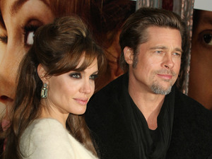Brad Pitt, Angelina Jolie, Tourist premiere, PDA