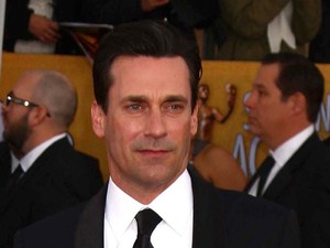 19th Annual Screen Actors Guild (SAG) Awards held at the Shrine Auditorium - Arrivals Featuring: Jon Hamm Where: Los Angeles, California, United States