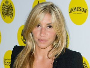 Melanie Blatt arriving the premiere of Irvine Welsh's Ecstasy, at the Ministry of Sound in south London.