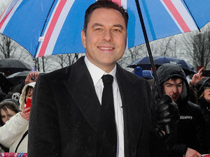 'Britain's Got Talent' judges arrive at the auditions held at Clyde Auditorium: David Walliams