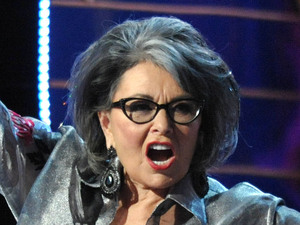 Roseanne Barr at her Comedy Central 'roast' taping - August 4, 2012