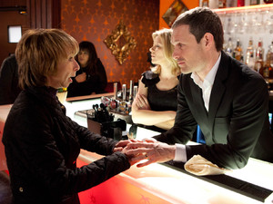 8057: Gail McIntyre [HELEN WORTH] begs Nick Tilsley [BEN PRICE] for her job back and somewhere to live, will Nick agree?
