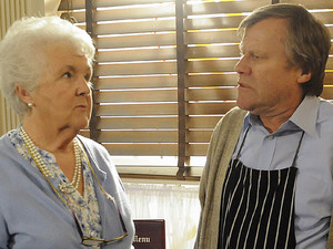 8061: Having phoned Milton, Roy confronts Sylvia wanting to know exactly what's been going on