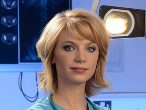 Ty Glaser as Gemma Wilde in Holby City