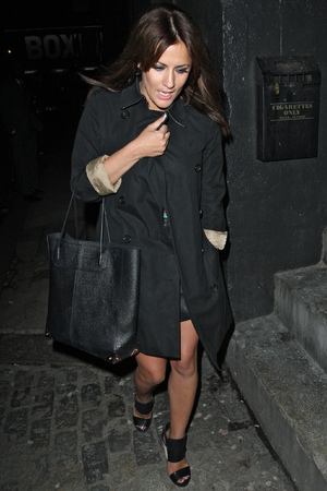 InStyle Best Of British Talent party at Shoreditch House Featuring: Caroline Flack Where: London, United Kingdom When: 31 Jan 2013