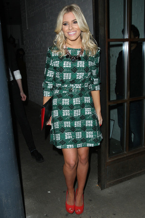 InStyle Best Of British Talent party at Shoreditch House Featuring: Mollie King Where: London, United Kingdom When: 31 Jan 2013