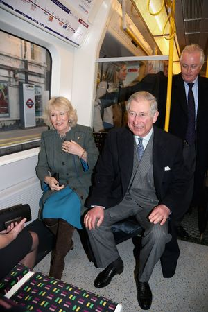 Prince Charles, Camilla on the London Underground