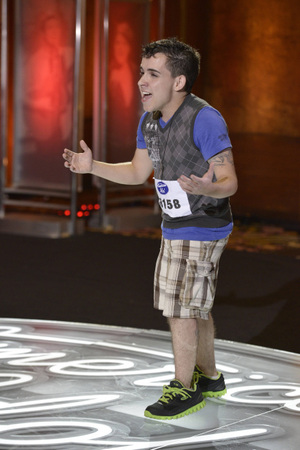 American Idol - Los Angeles auditions: Matheus Fernandez
