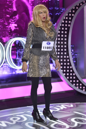 Steven Tyler as contestant 'Pepper LaBeija' on American Idol