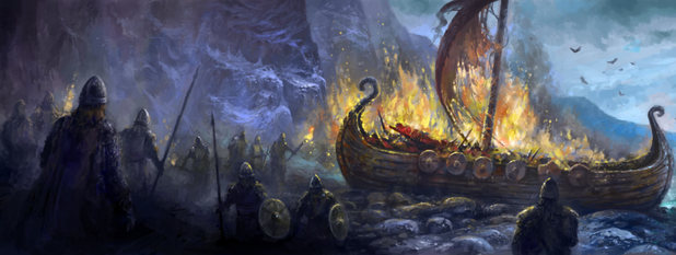 'Crusader Kings II: The Old Gods' concept art