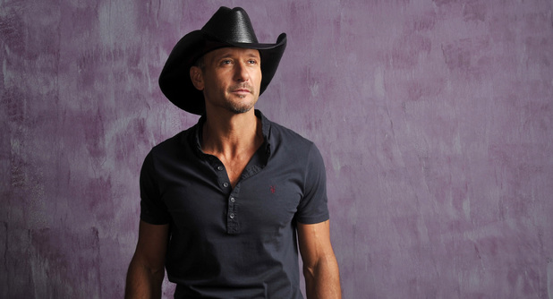 Tim McGraw photographed in January 2013