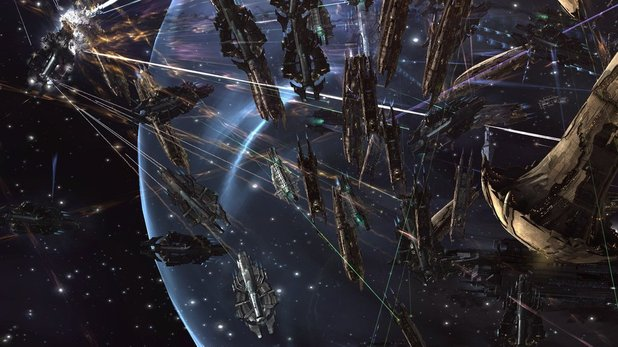 EVE Online - 2,800 player battle