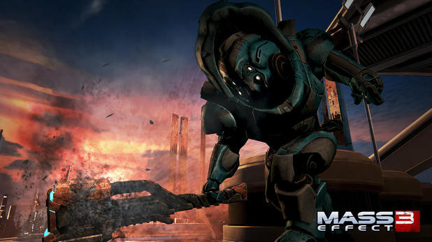 Mass Effect 3 teaser image posted by producer Michael Gamble