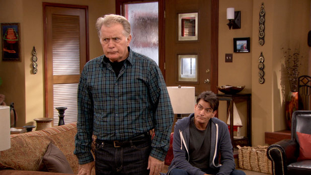 Anger Management: Martin Sheen and Charlie Sheen