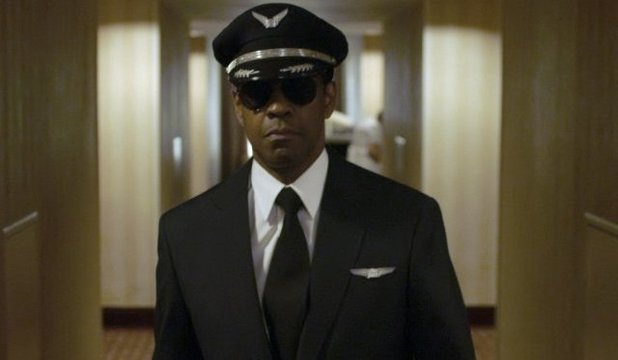'Flight' still: Denzel Washington