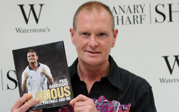 Paul Gascoigne in 2010.