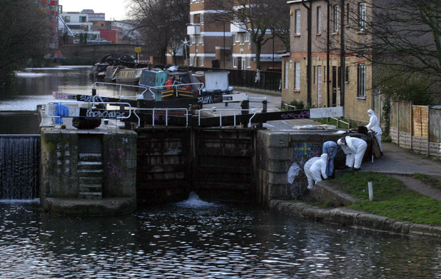 A 35-year-old man has been arrested after a headless torso feared to be EastEnders actress Gemma McCluskie was dragged from RegentÕs Canal in east London
