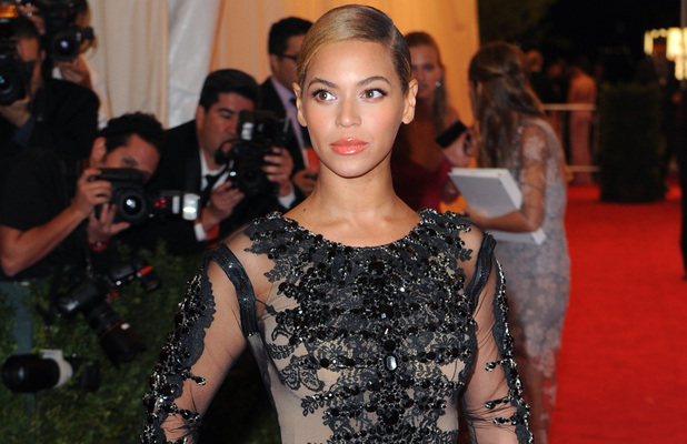 Beyonce Knowles Schiaparelli and Prada 'Impossible Conversations' Costume Institute Gala 2012 at The Metropolitan Museum of Art New York City, USA - 07.05.12 Mandatory Credit: Lia Toby/WENN.com