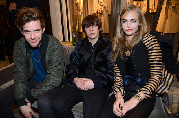 Harry Treadaway, Jake Bugg, Cara Delevingne