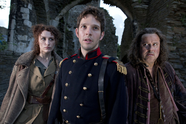 Being Human S05E01 - 'The Trinity': Lady Catherine (VICTORIA ROSS), Hal (Damien Molony), Emil (JEREMY SWIFT)