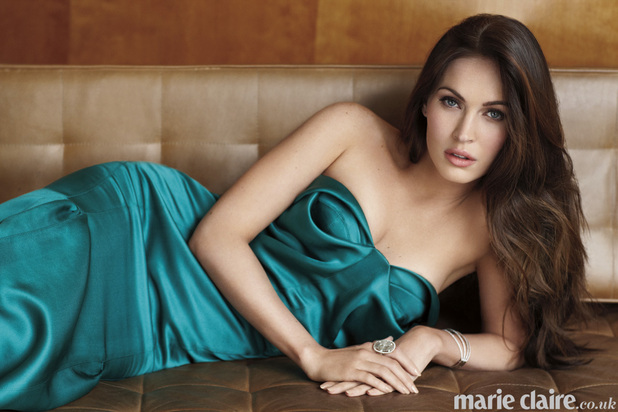 Megan Fox in the March issue of Marie Claire