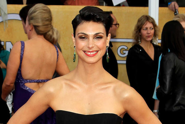 19th Annual Screen Actors Guild (SAG) Awards held at the Shrine Auditorium - Arrival Featuring: Morena Baccarin Where: Los Angeles, California, United States When: 27 Jan 2013 Credit: FayesVision/WENN.com