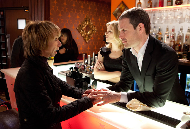 Gail begs Nick for her job back