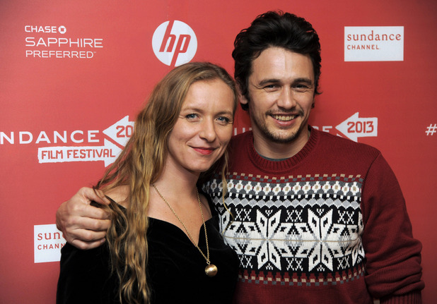 James Franco and Christina Voros, Sundance Film Festival 2013