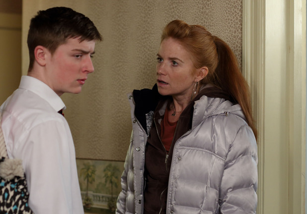 Bianca pleads with Liam to go to school from now on.