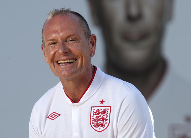 Paul Gascoigne in 2012.