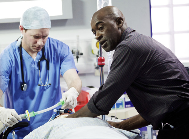 Patrick Robinson in Casualty
