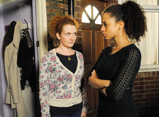 Kirsty confronts Fiz