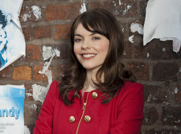 Kate Ford as Tracy Barlow in Corrie
