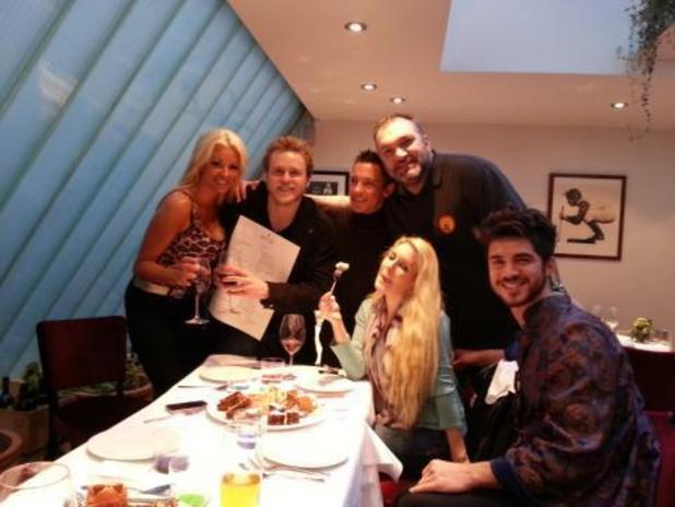 Celebrity Big Brother contestants - Spencer Pratt, Heidi Montag, (Speidi) Sam Robertson, Razor Ruddock and Frankie Dettori