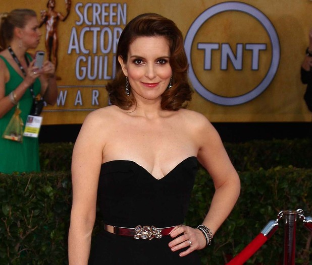19th Annual Screen Actors Guild (SAG) Awards held at the Shrine Auditorium - Arrivals Featuring: Tina Fey Where: Los Angeles, California, United States