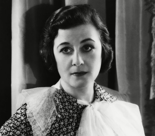 Screenwriter Frances Marion, the first woman to win an Oscar in 1930