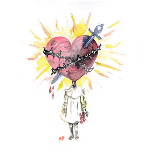Nerina Pallot 'Lonely Valentines Club' EP artwork