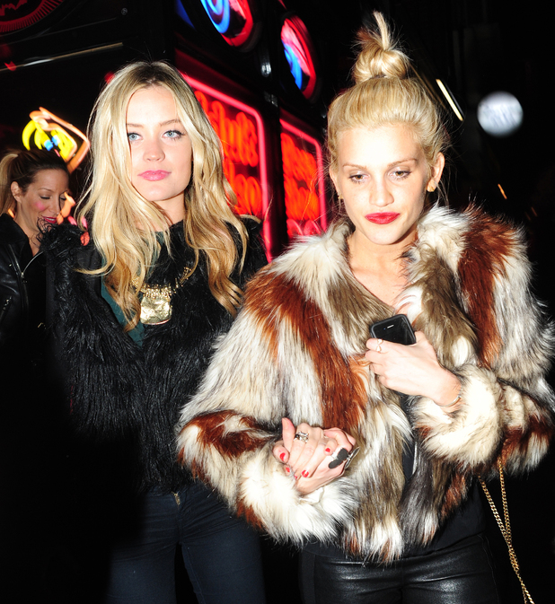 Laura Whitmore and Ashley Roberts