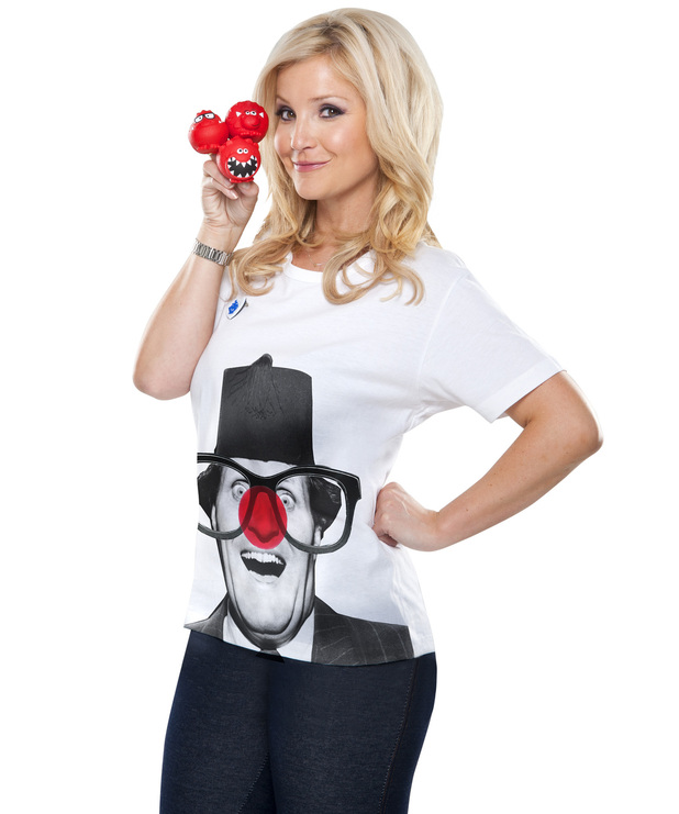 Comic Relief: Celebrities posing for Red Nose day
