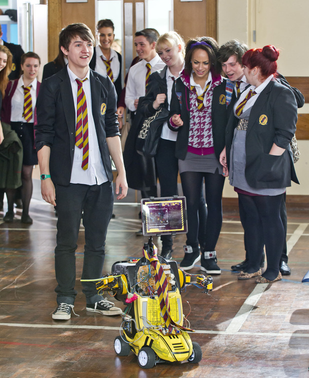 Kevin Skelton in Waterloo Road