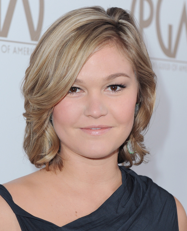 Julia Stiles, arrives at the 24th Annual Producers Guild (PGA) Awards at the Beverly Hilton Hotel