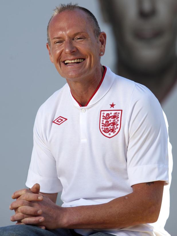 Paul Gascoigne in 2012.