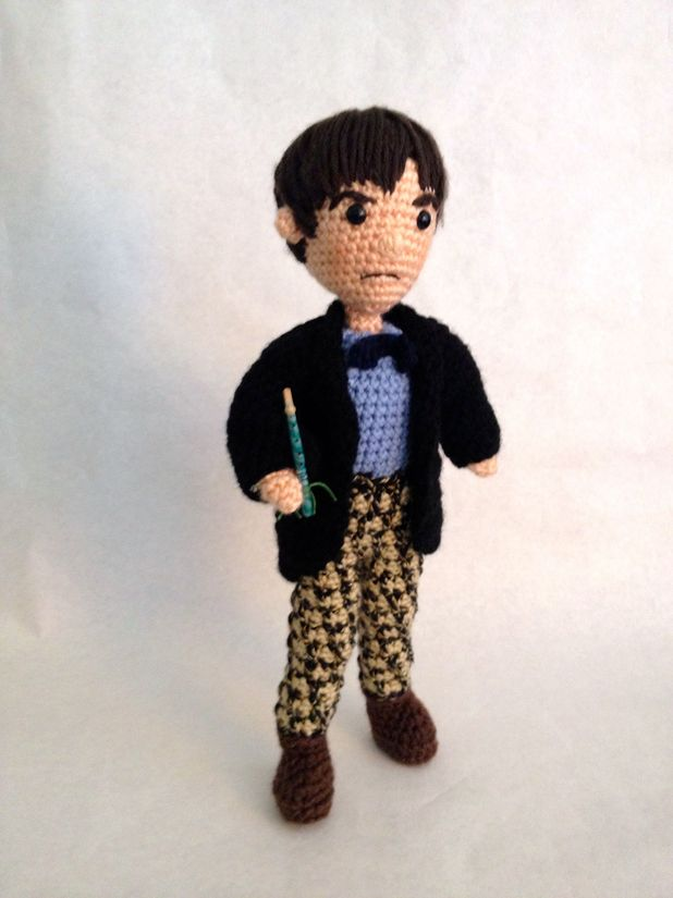 'Doctor Who': Woman crochets all 11 Doctors