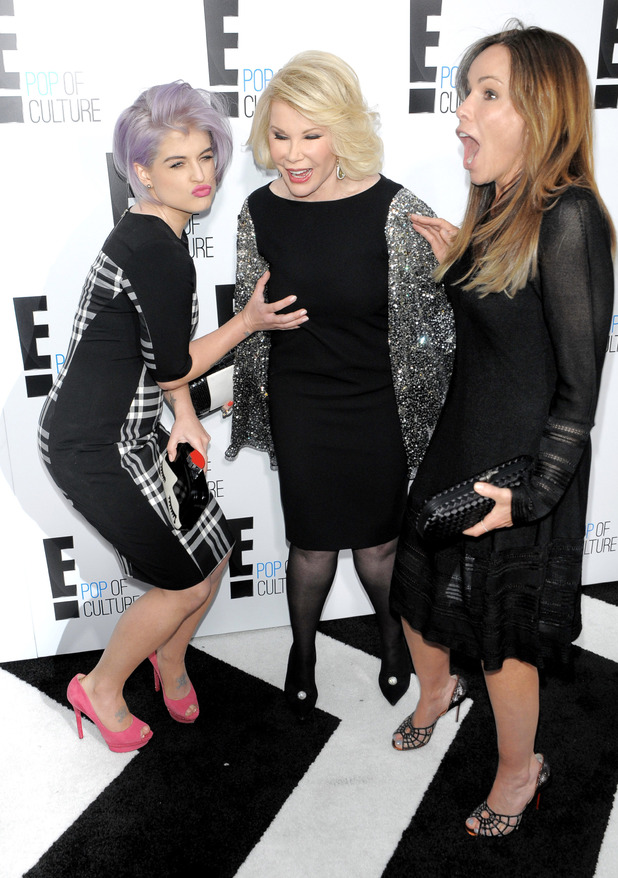 Kelly Osbourne, Joan Rivers, Meliss Rivers