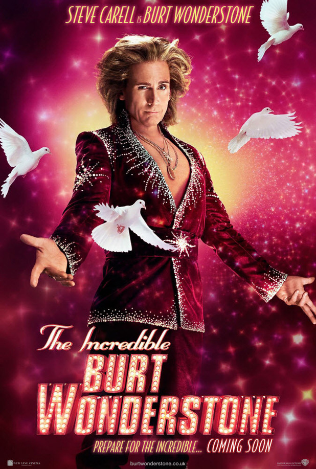 Steve Carell as Burt Wonderstone