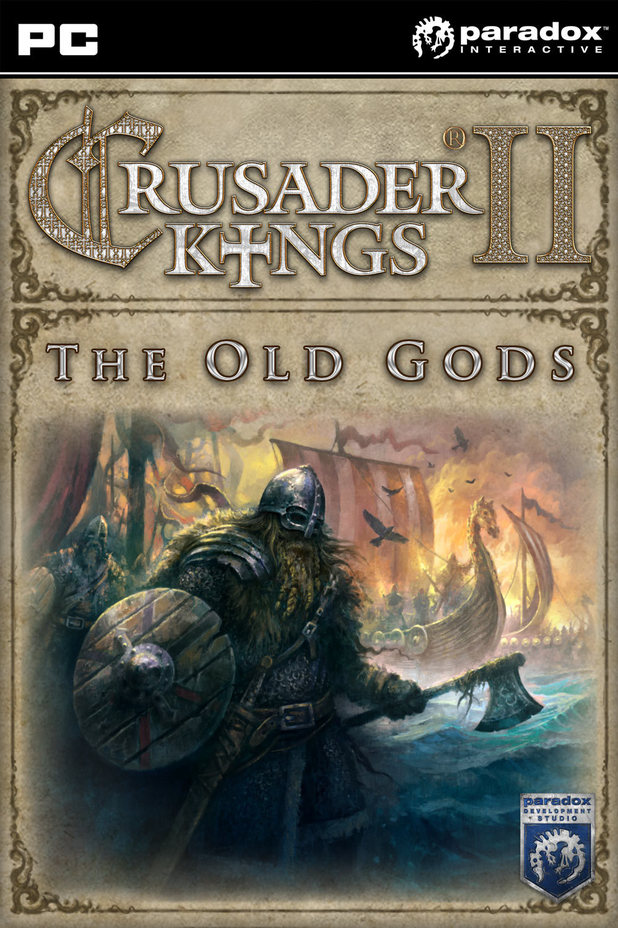 'Crusader Kings II: The Old Gods' pack shot
