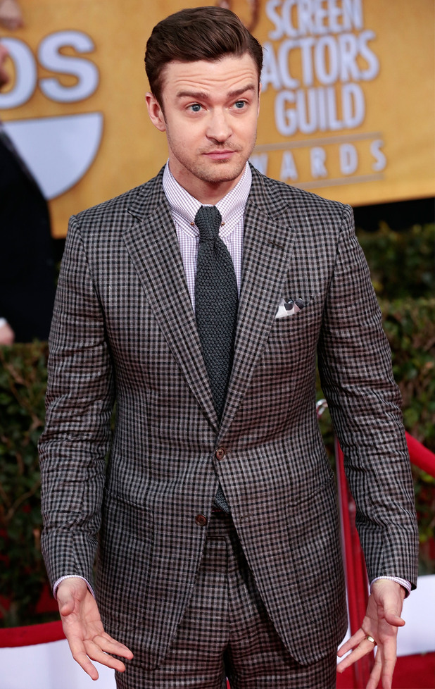 19th Annual Screen Actors Guild (SAG) Awards held at the Shrine Auditorium - Arrivals Featuring: Justin Timberlake Where: Los Angeles, California, USA When: 27 Jan 2013