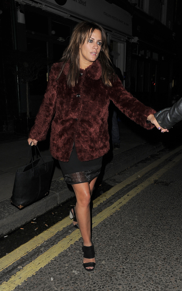 Caroline Flack, Groucho Club
