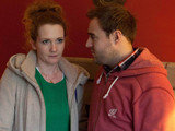 8056: how will Fiz Stape [JENNIE McALPINE] react when she learns of Tyrone Dobbs' [ALAN HALSALL] plan to flee the street?